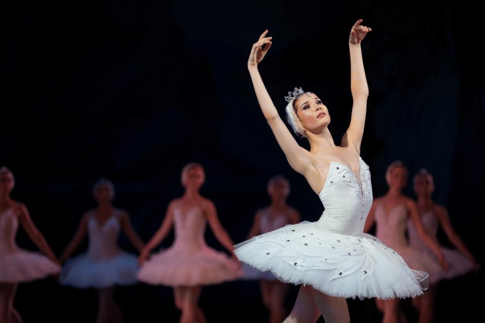 Ballerina Swan Lake
